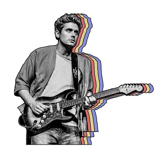 John Mayer überlagert von hrubiks