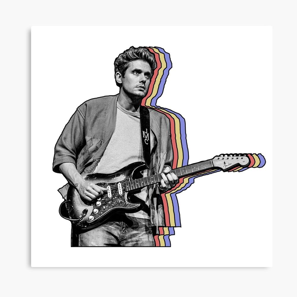 John Mayer en capas Lienzo