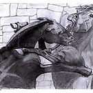 Fighting Horses Justin Beck Picture 2015092 by Justin Beck