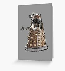 Exterminate! Greeting Card