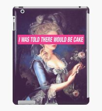 There Will Be Cake iPad Case/Skin