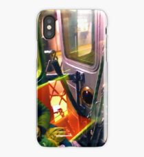 Painting On The New York City Subway iPhone Case/Skin