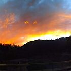 Sunset Pano by Laura Puglia