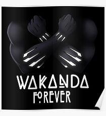 Wakanda Forever Poster