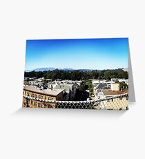Sunny San Fransisco Greeting Card