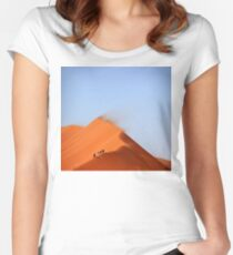 Gazing across the sahara Women's Fitted Scoop T-Shirt