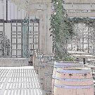Beautiful Day at the Winery by Sherry Hallemeier