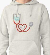 Sudadera con capucha Futura enfermera