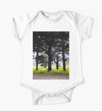 The Avenue of Trees 2 One Piece - Short Sleeve