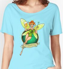Fairy with Beer Women's Relaxed Fit T-Shirt