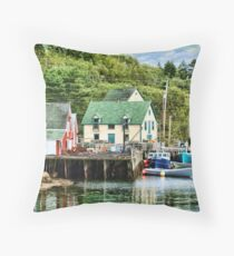 Northwest Cove, Nova Scotia Throw Pillow