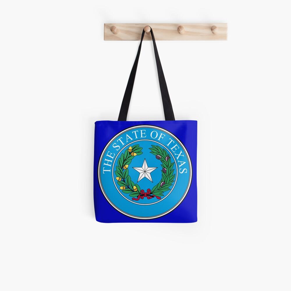 Seal of Texas Tote Bag