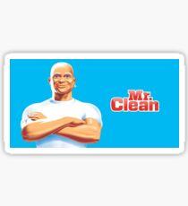 Yung Gravy Mr. Clean Sticker