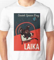 Laika Hund Slim Fit T-Shirt