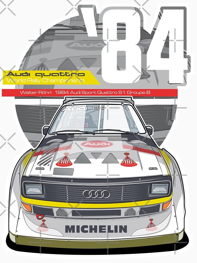 Audi Quattro Sport S1 - 1984 von DeCiren