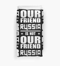 Russland nicht Freund Bettbezug