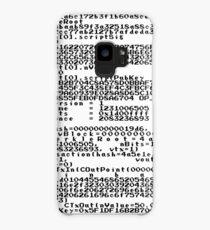 Bitcoin Genesis Block Case/Skin for Samsung Galaxy