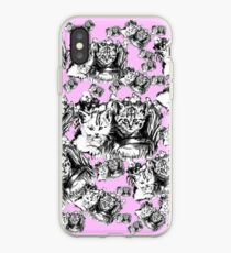 Pink Baby Cats  iPhone Case