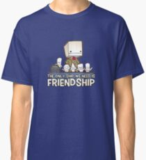 Friendship is the best ship Classic T-Shirt