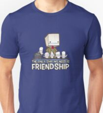 Friendship is the best ship Unisex T-Shirt