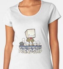Friendship is the best ship Women's Premium T-Shirt