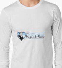 Beyond Rare Banner - blue and stripe Long Sleeve T-Shirt