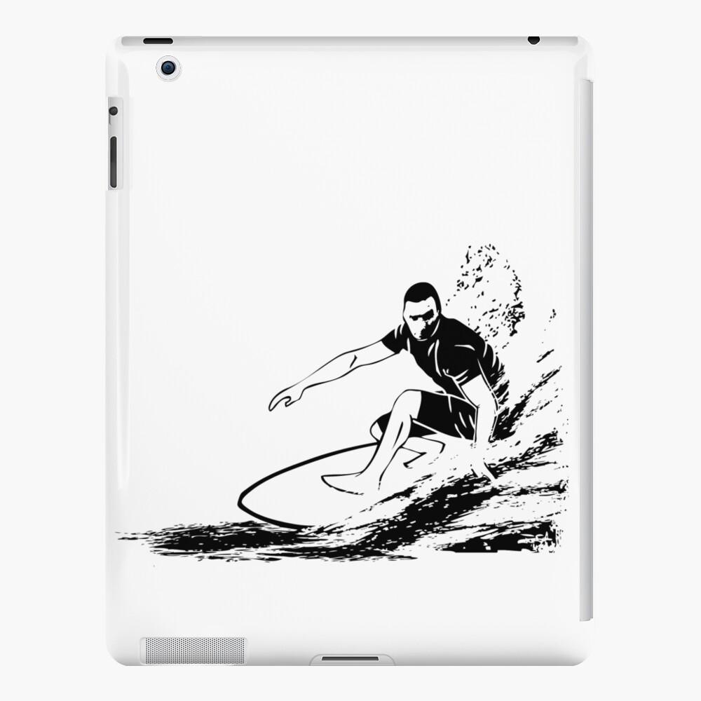 Surf Funda y vinilo para iPad