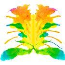 Tintenklecks Kreativ Rorschach von TintenklecksArt