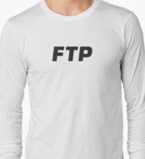 Fuck The Population Long Sleeve T-Shirt