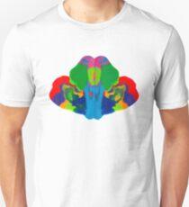 Rorschach Tintenklecks Unisex T-Shirt
