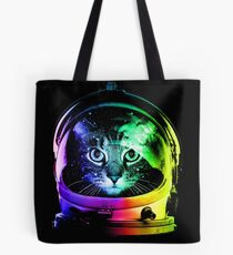 Astronaut Katze Tote Bag
