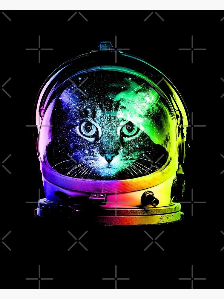 Astronaut Katze von clingcling