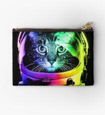 Astronaut Cat Studio Pouch