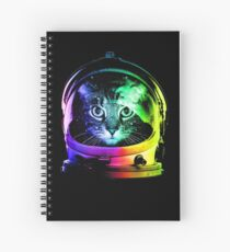 Astronaut Cat Spiral Notebook