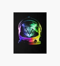 Astronaut Cat Art Board