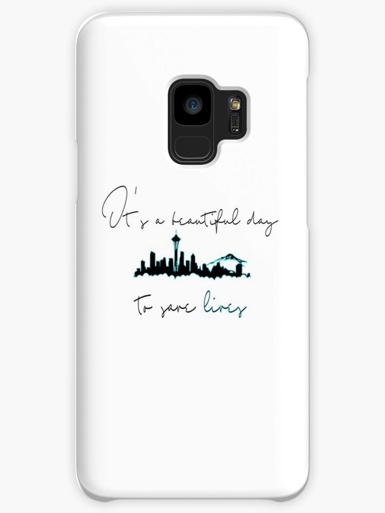 Fundas y vinilos para Samsung Galaxy «Es un hermoso día para salvar ...