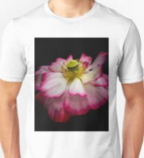A total whackadoodle of a poppy.  Unisex T-Shirt