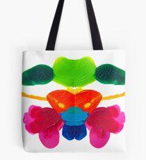 Blüten Tintenklecks Rorschach Tasche