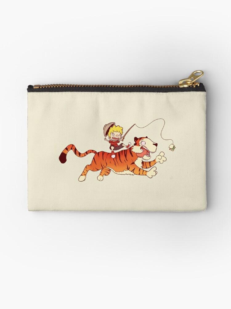 Calvin and Hobbes by gatofeio