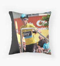 Chris Froome (1), Tour de France 2013  Throw Pillow