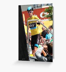 Chris Froome (1), Tour de France 2013  Greeting Card
