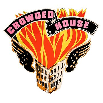 Crowded House Tinders T-shirt by blindreligion