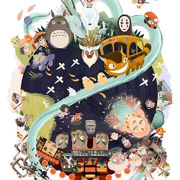 Miyazaki by AtrouneH