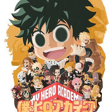 My Hero Academia by AtrouneH