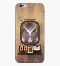 Steampunk rustic Flux capacitor iPhone Case