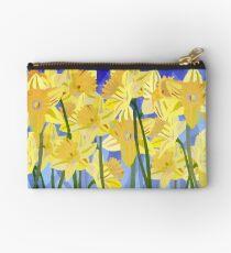 Spring Daffodils Studio Pouch