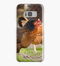 brown Rhode Island Red hens Samsung Galaxy Case/Skin