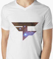 Faze space Men's V-Neck T-Shirt