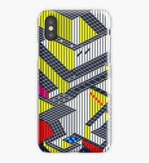 Gyroscope Level 4 - ZX Spectrum Game Map iPhone Case