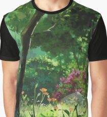 Ghibli Landscape Graphic T-Shirt